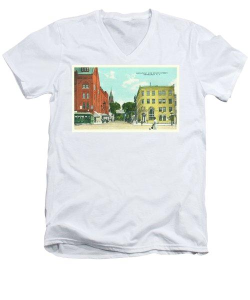 Newburgh Broadway - 10 Men's V-Neck T-Shirt