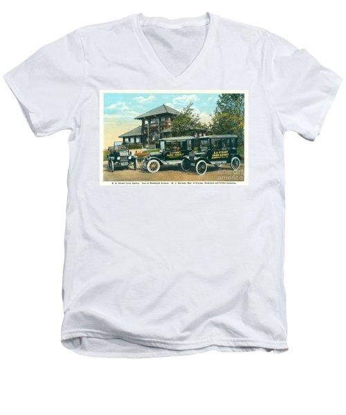 Newburgh Downing Park - 22 Men's V-Neck T-Shirt