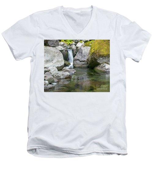 Nickel Creek 1019 Men's V-Neck T-Shirt
