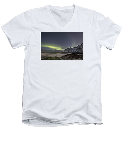Night Waves Men's V-Neck T-Shirt