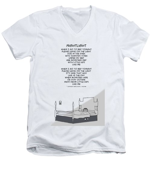 Nightlight Men's V-Neck T-Shirt