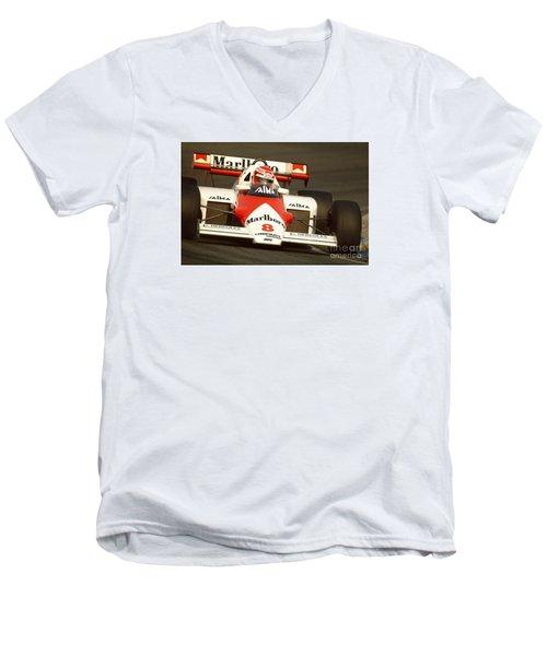 Niki Lauda. 1984 Dutch Grand Prix Men's V-Neck T-Shirt