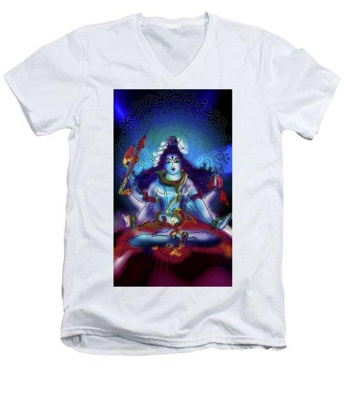 Nirvikalp Samadhi Kapali Shiva Men's V-Neck T-Shirt