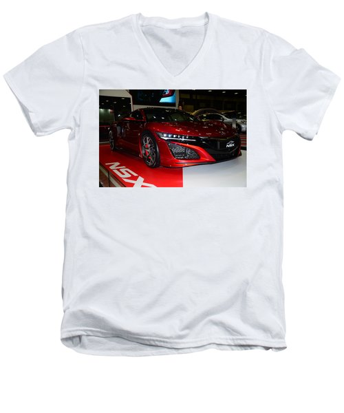 Honda Nsx Men's V-Neck T-Shirt