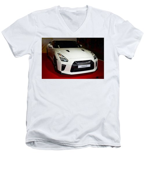 Nissan Gtr Men's V-Neck T-Shirt