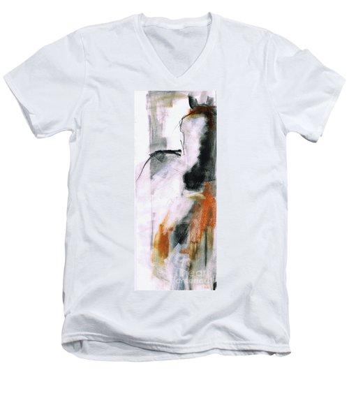 Nm Sketch Two Men's V-Neck T-Shirt by Frances Marino