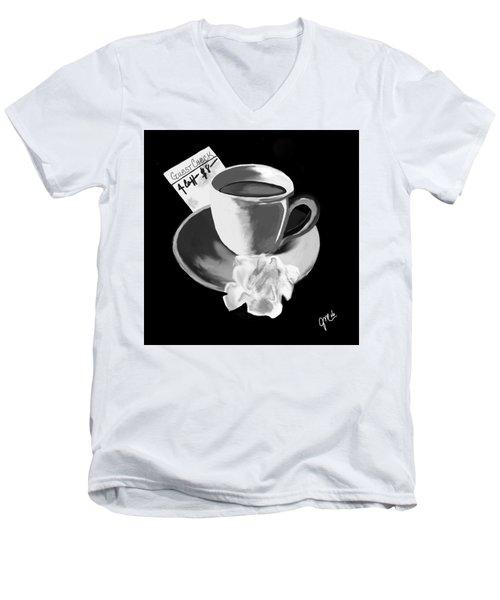 No Show I Men's V-Neck T-Shirt