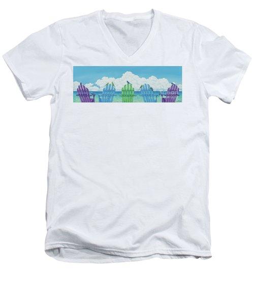 Non Hostile Takeover Men's V-Neck T-Shirt