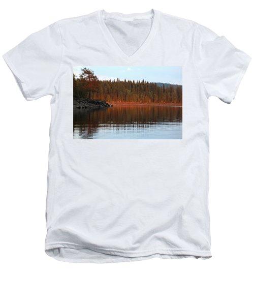 Nordmarka, Norway  Men's V-Neck T-Shirt