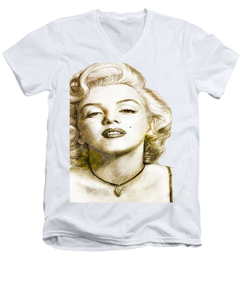 Norma Jean Men's V-Neck T-Shirt
