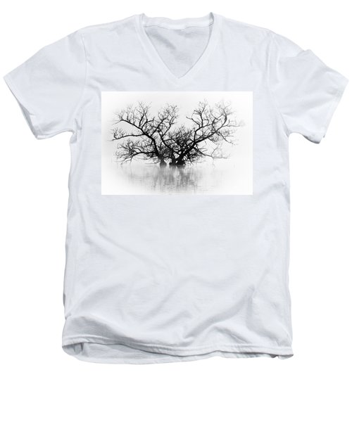 Norris Lake April 2015 5 Men's V-Neck T-Shirt