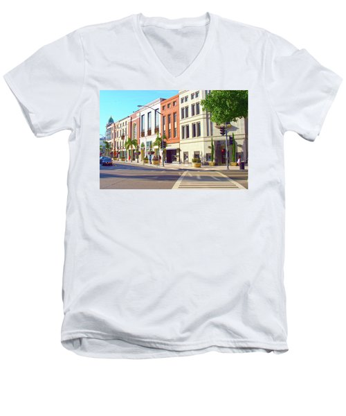 North Rodeo Drive Men's V-Neck T-Shirt
