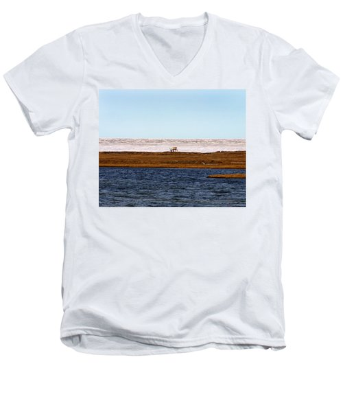 North Slope Men's V-Neck T-Shirt