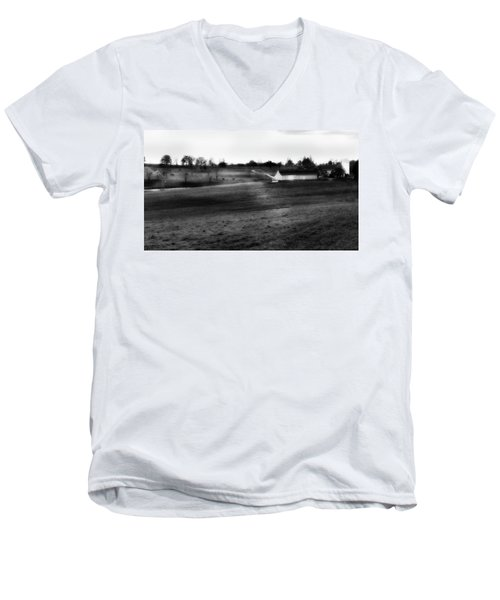 Men's V-Neck T-Shirt featuring the photograph Northfield 2016 by Bill Wakeley