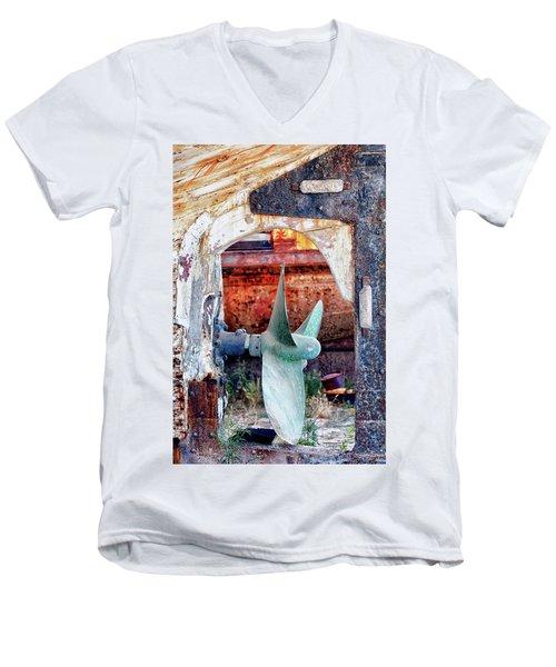 Not For Turning Men's V-Neck T-Shirt