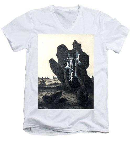 November Eve Men's V-Neck T-Shirt