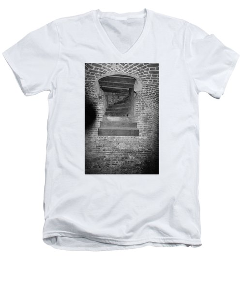 Nowhere Stair Men's V-Neck T-Shirt