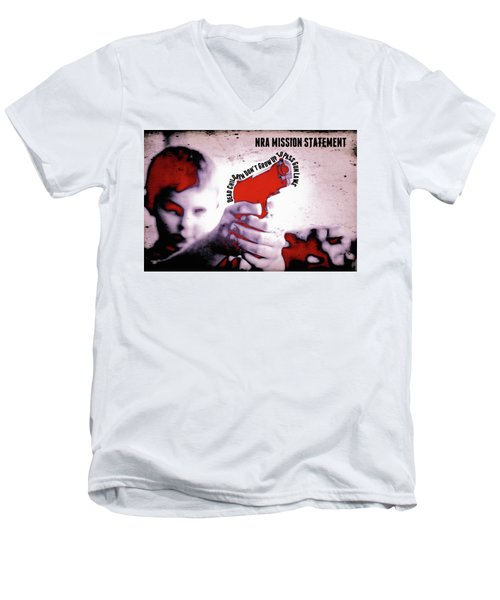 Nra Mission Statement Men's V-Neck T-Shirt