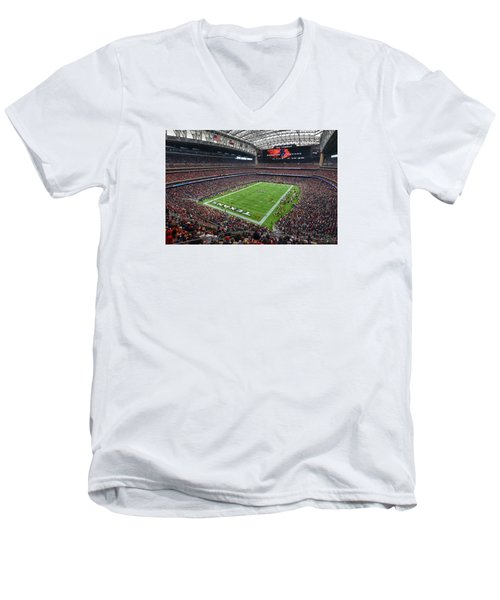 Nrg Stadium - Houston Texans  Men's V-Neck T-Shirt