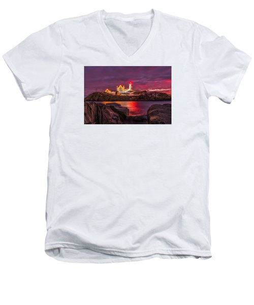 Nubble-rific Men's V-Neck T-Shirt