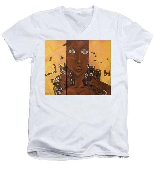 Nubian 3 Men's V-Neck T-Shirt