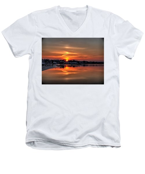 Nuclear Morning Men's V-Neck T-Shirt