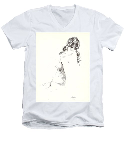 Nude 9 Men's V-Neck T-Shirt