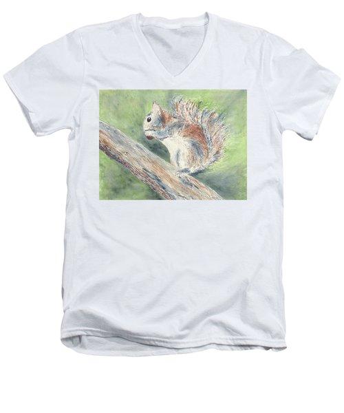 Nut Job Men's V-Neck T-Shirt
