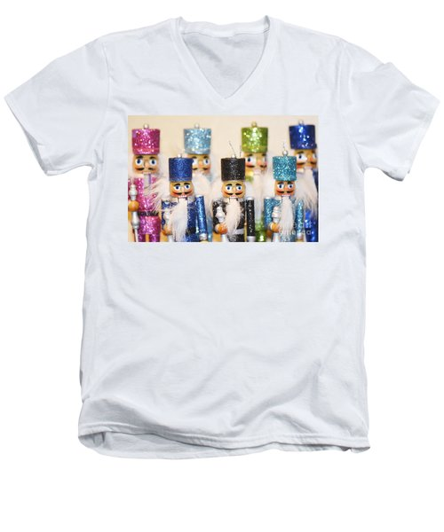 Nutcracker March Men's V-Neck T-Shirt