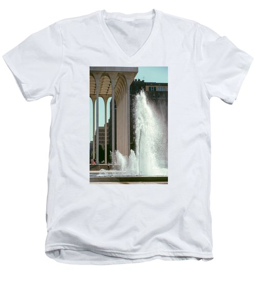 Nwnl Fountains - July 1973 Men's V-Neck T-Shirt