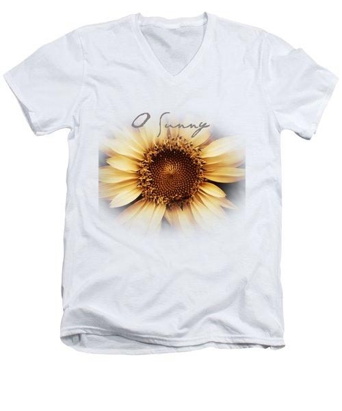 O Sunny  Men's V-Neck T-Shirt