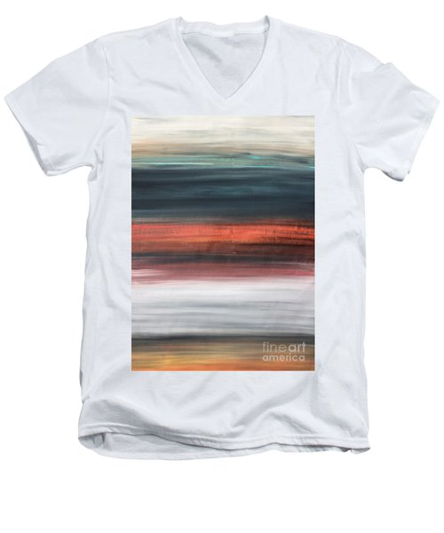 Oak Creek #30 Southwest Landscape Original Fine Art Acrylic On Canvas Men's V-Neck T-Shirt