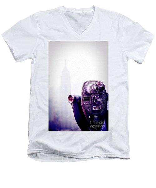 Observation Men's V-Neck T-Shirt