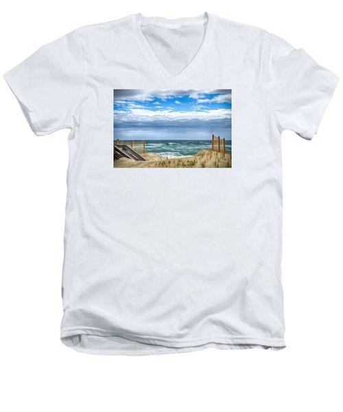 OBX Men's V-Neck T-Shirt