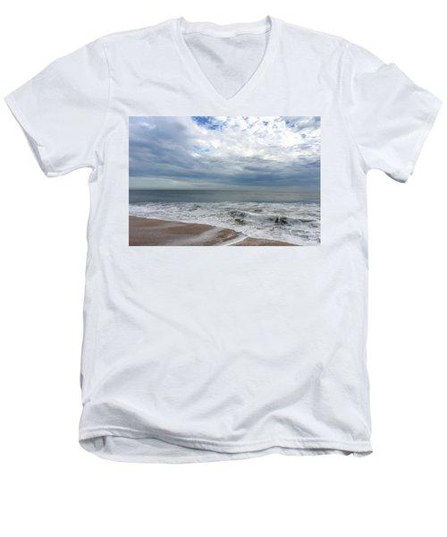 Ocean Blue Men's V-Neck T-Shirt