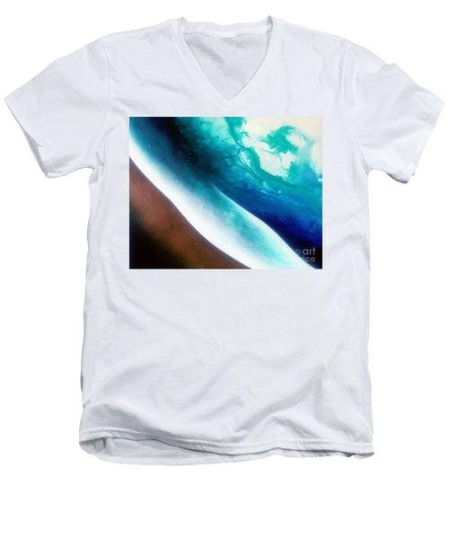 Crystal Wave Men's V-Neck T-Shirt