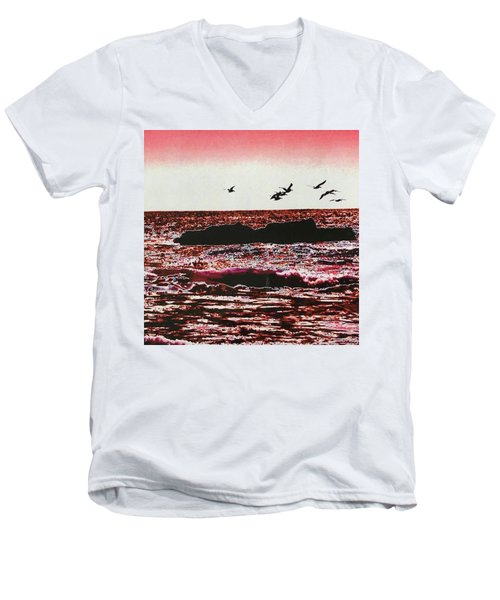 Ocean  Men's V-Neck T-Shirt