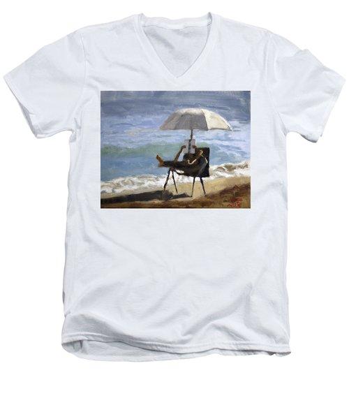 Ocean Reader Men's V-Neck T-Shirt
