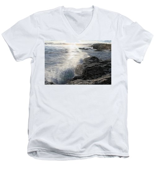 Ocean Splash Men's V-Neck T-Shirt