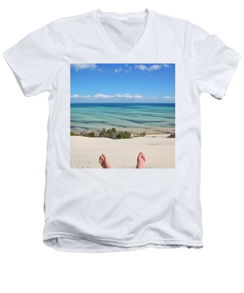 Ocean Views Men's V-Neck T-Shirt