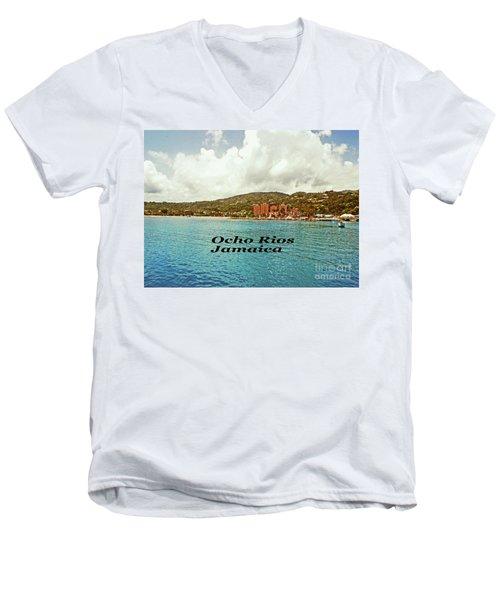 Ocho Rios Jamaica Men's V-Neck T-Shirt