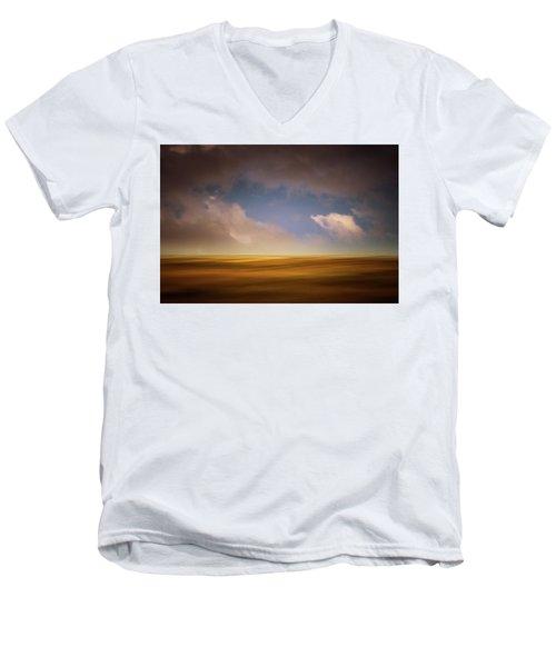 October Afternoon Men's V-Neck T-Shirt