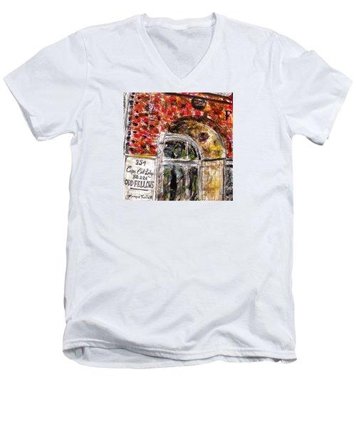 Odd Fellows, Cape Cod Men's V-Neck T-Shirt