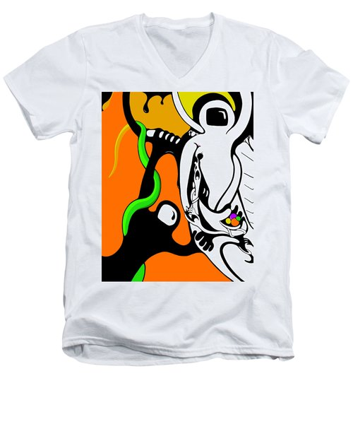 Oddballs Men's V-Neck T-Shirt