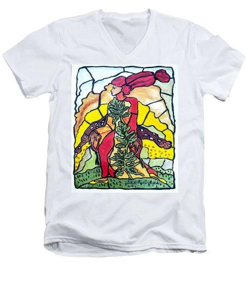 Of The Earth Men's V-Neck T-Shirt