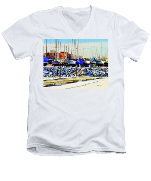Off Season Men's V-Neck T-Shirt