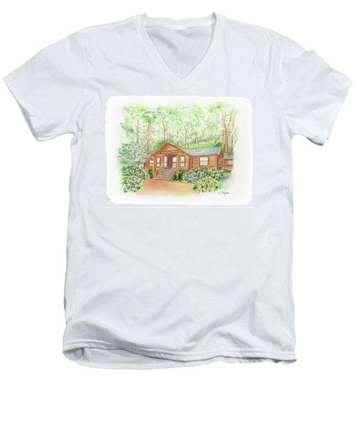 Office In The Park Men's V-Neck T-Shirt