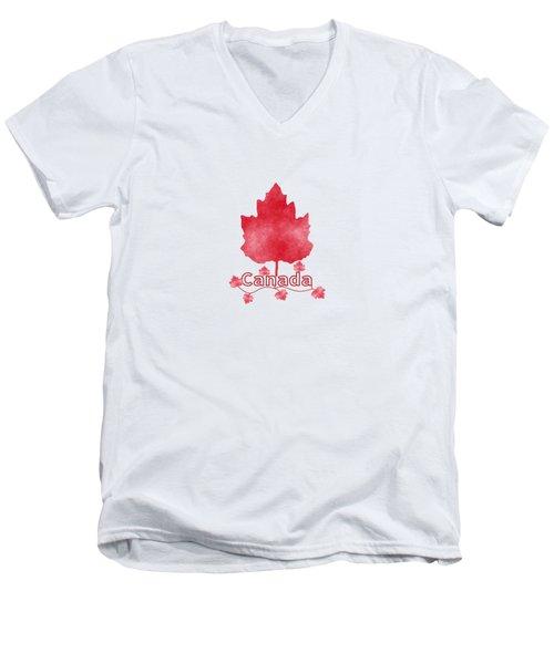 Oh Canada Men's V-Neck T-Shirt
