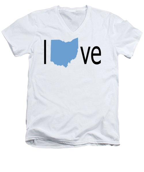 Ohio Love Men's V-Neck T-Shirt