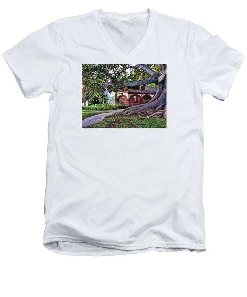 Old Adobe Men's V-Neck T-Shirt